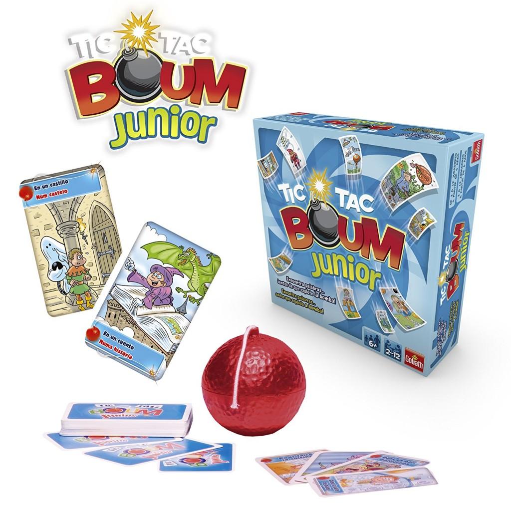 Tic tac boom junior goliath juego de mesa de 2 a 12 jugadores for Boom junior juego de mesa