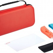 Kit básico para Nintendo Switch AmazonBasics rojo