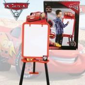 Pizarra con caballete diseño Cars 3
