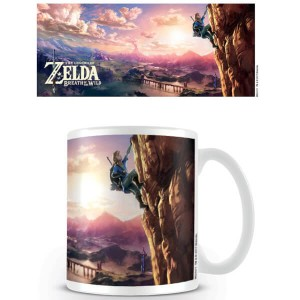 Taza The Legend of Zelda Breath of the Wild Escalada
