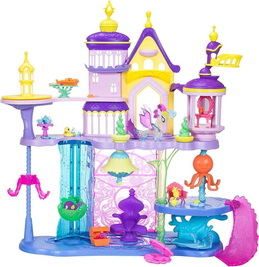 Castillo Canterlot y Mar My Little Pony Hasbro