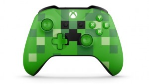 Mando Inalámbrico Xbox Minecraft Creeper
