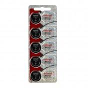 Pack 5 pilas de botón CR2032 3V Maxell
