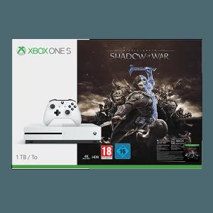 Pack Xbox One S 1 TB + La Tierra Media Sombras de Guerra