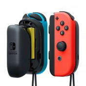 Pack de cargadores con pilas para mandos Joy-Con de Nintendo Switch