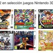 3x2 en una selección de juegos de Nintendo 3DS