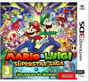 Mario y Luigi Super Star Saga + secuaces de Bowser