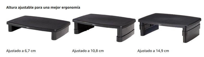 Soporte monitor AmazonBasics DHMSA altura regulable