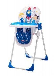 Trona para bebés Piku diseño astronautas