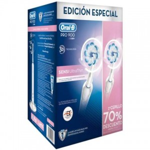 Cepillo eléctrico Oral-B PRO 900 Duo Sensi Ultrathin