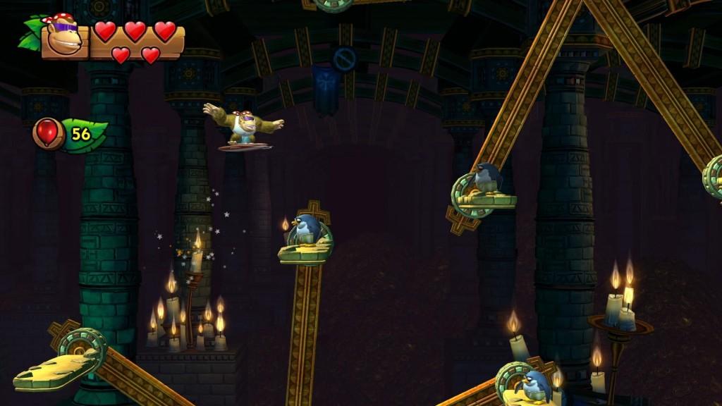 Donkey Kong Country Tropical Freeze modo relajado