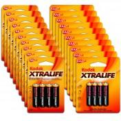 Pack 80 pilas alcalinas Kodak Xtralife