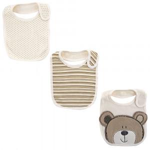 Pack tres baberos recién nacido Oso Babies R Us