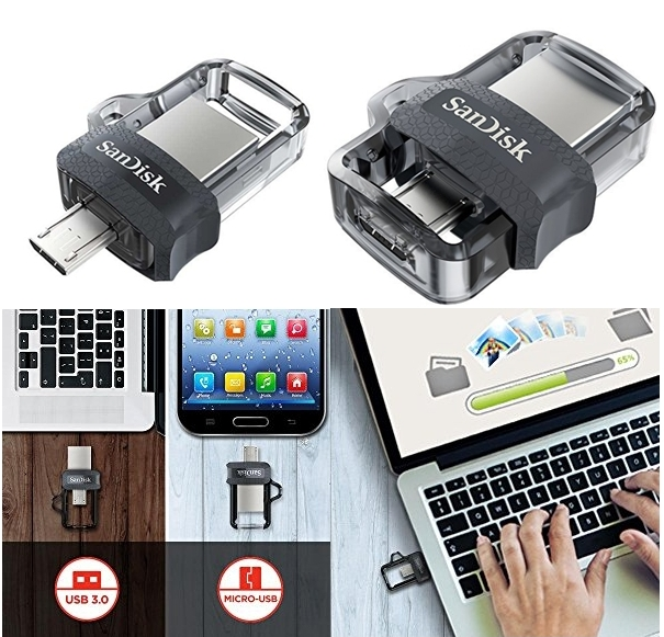 Pendrive SanDisk Ultra Dual m3.0
