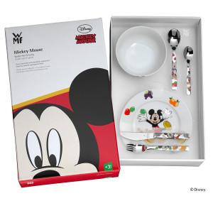 Vajilla infantil 6 piezas Mickey Mouse WMF
