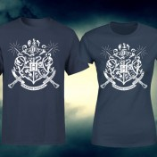 Camiseta Harry Potter Escudo Hogwarts hombre y mujer