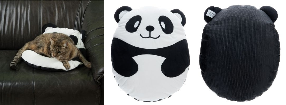 Cojín Oso panda para mascotas