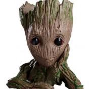 Maceta lapicero con forma de Groot