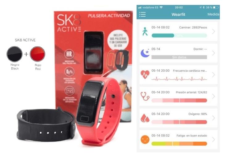 Pulsera actividad SK8 Active