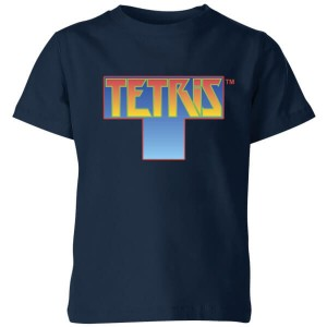Camiseta pieza Tetris modelo para niño