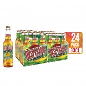 Pack de 24 botellines de 330 ml de cerveza Desperados Mojito