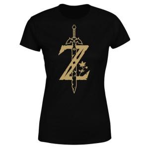 Camiseta The Legend of Zelda Espada Maestra modelo para mujer