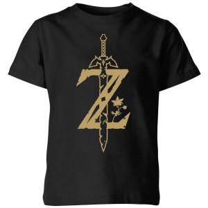 Camiseta The Legend of Zelda Espada Maestra modelo para niño