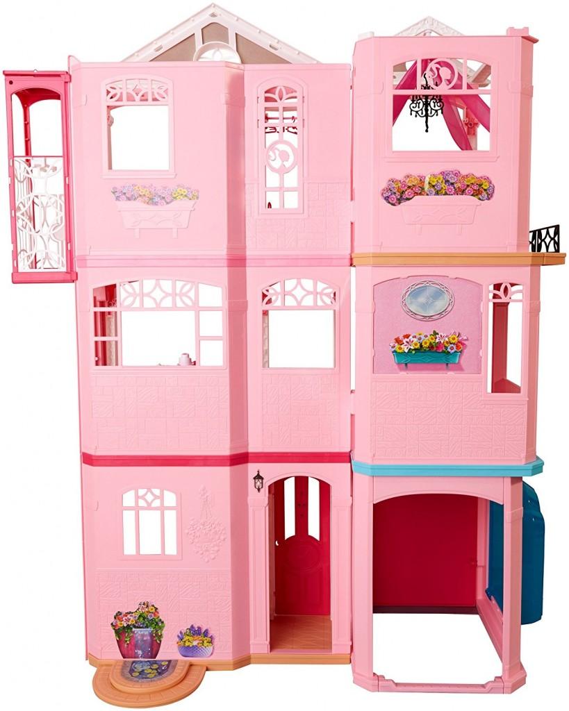 Casa de muñecas Barbie Dreamhouse FFY84 parte trasera