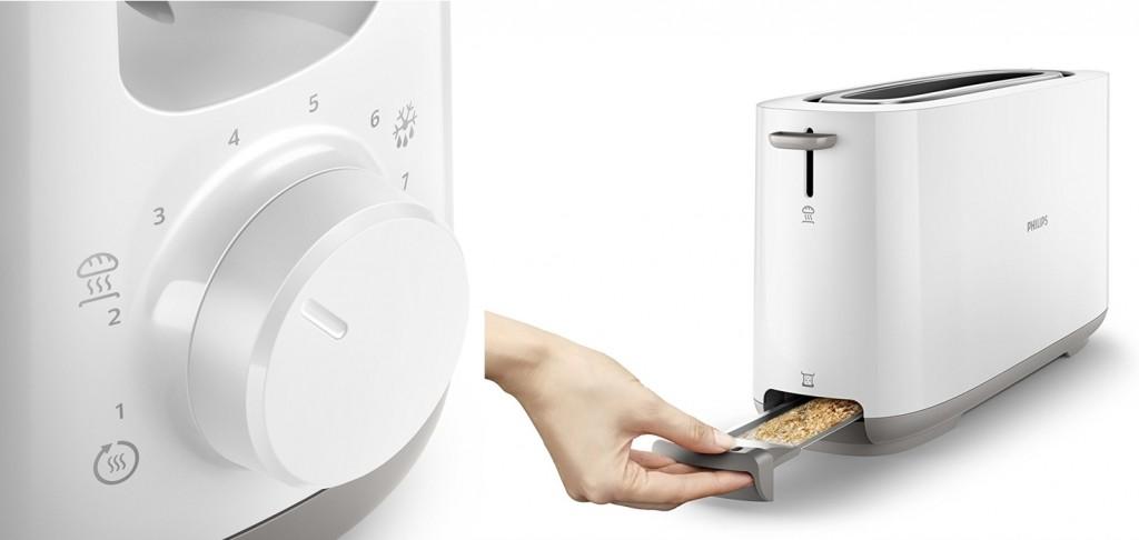 Tostadora Philips HD2590 para todo tipo de pan