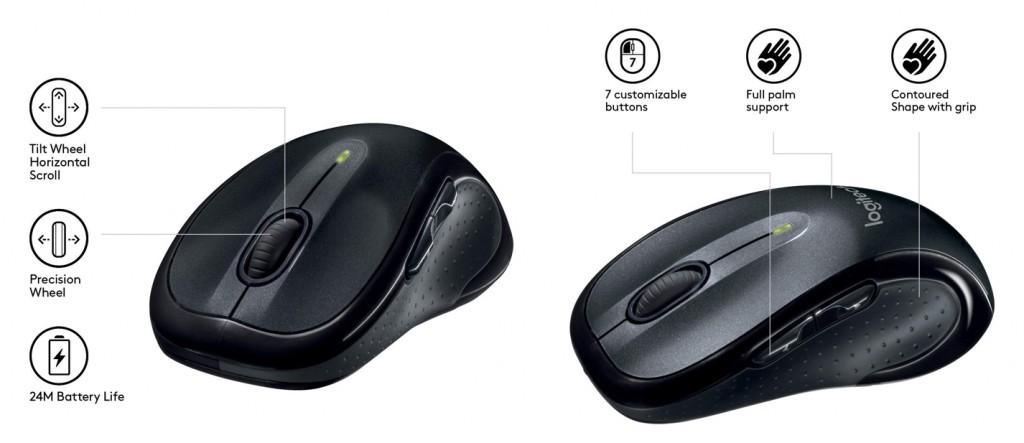 Ratón inalambrico Logitech M510