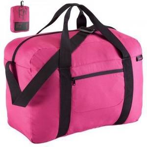 Bolsa plegable cabina 35L rosa NEWFEEL
