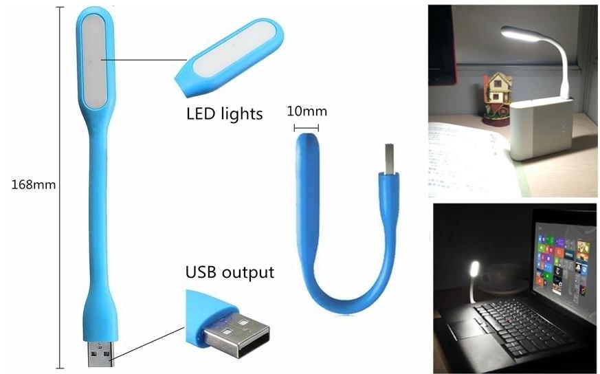 Lámpara LED USB portátil