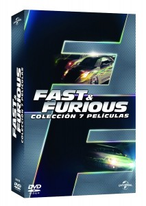Pack Fast & Furious 1-7 DVD