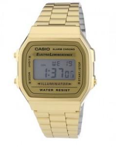 Reloj Casio Vintage dorado A168WG-9EF