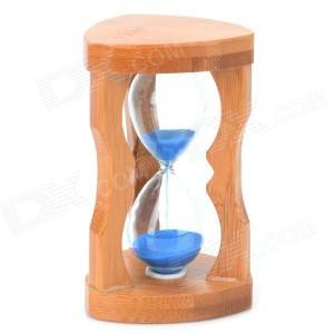 Reloj de arena azul