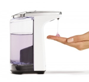 Dispensador automático de jabón Simplehuman