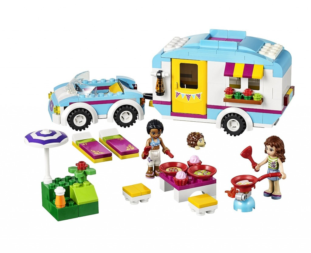 La caravana de verano LEGO Friends