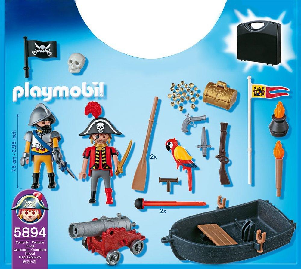 Maletín Piratas Playmobil Playmobil 5894 piezas