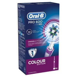 Oral-B PRO 600 CrossAction morado