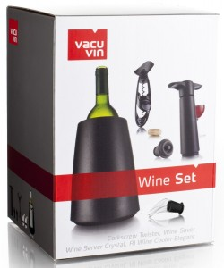 Set para vino Vacu Vin 3889160 caja