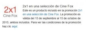 2x1 Fox