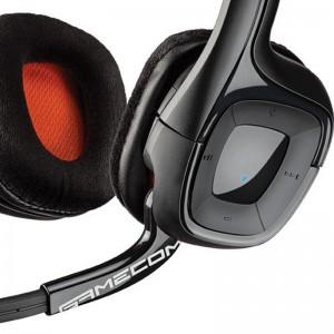 Auriculares Plantronics Gamecom 818 controles