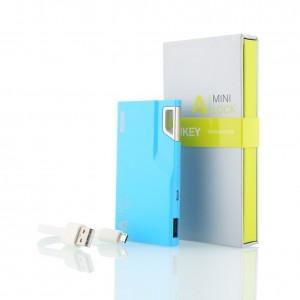 Batería Externa Aukey Mini Lock azul