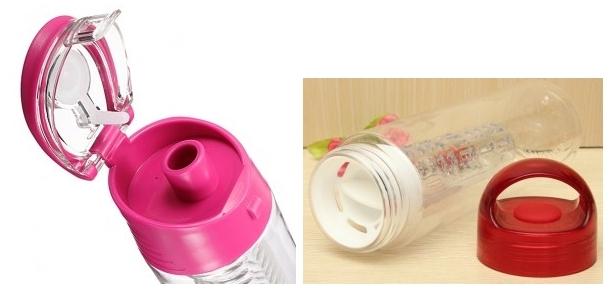 Botella para bebidas con sabores