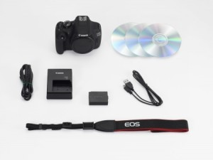 Canon EOS 1200D contenido caja