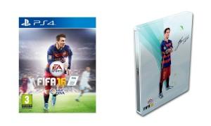 FIFA 16 con caja metálica