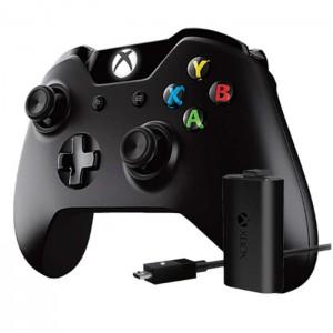 Mando inalámbrico Xbox One con Kit Carga y Juega