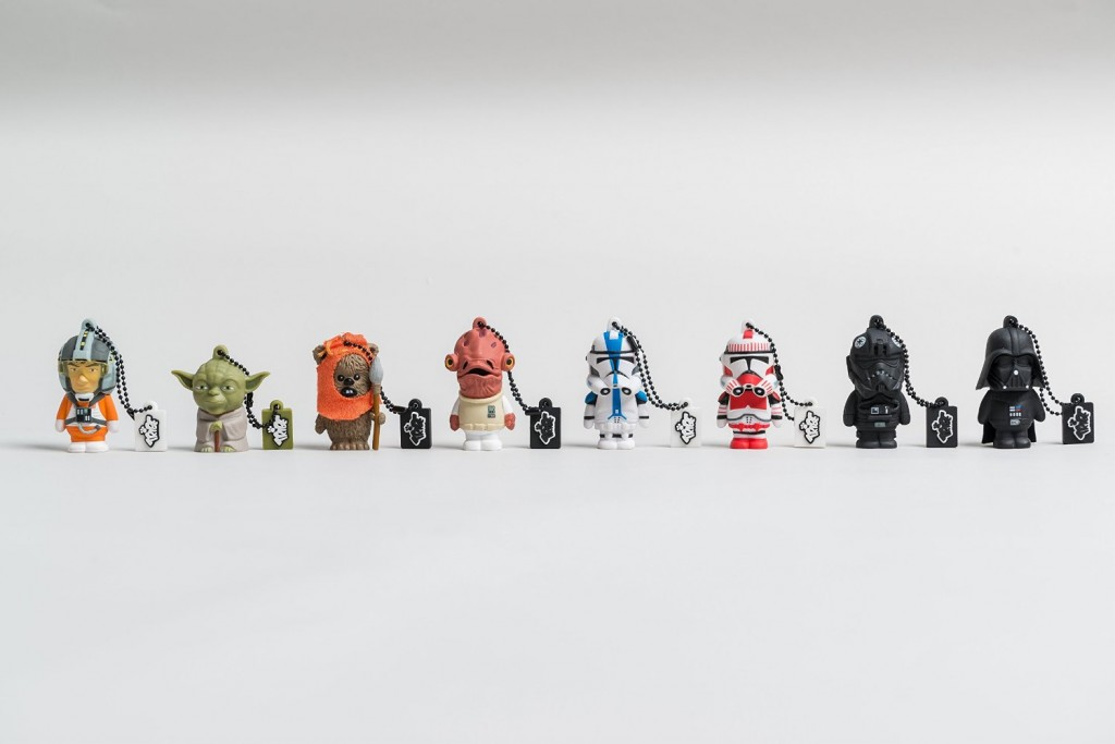 Tribe, pendrive Star Wars personajes