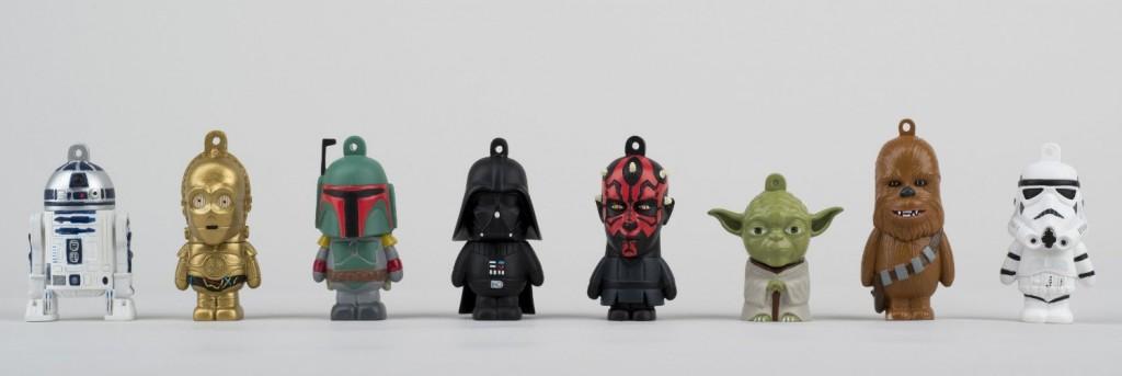 Tribe pendrive diseño Star Wars personajes