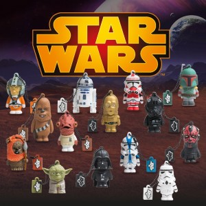 Pendrive diseño Star Wars varios personajes